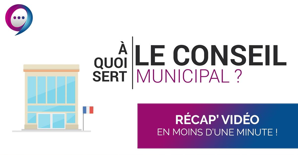 Récap' vidéo : Présentation conseil municipal