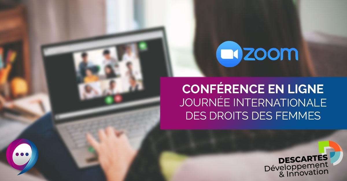 Conférence digitale – Journée internationale des droits des femmes