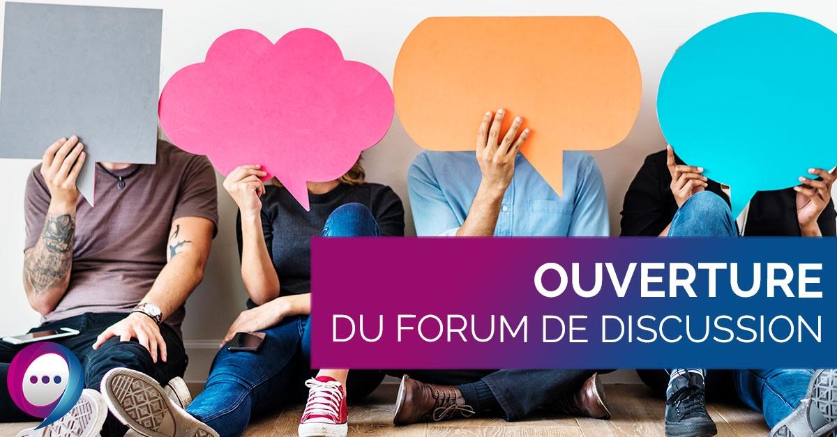 Ouverture du Forum