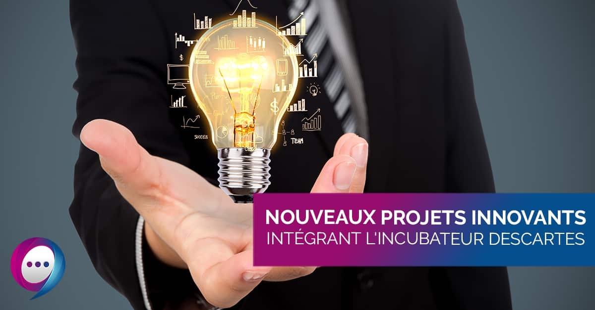 Incubés 2021 : Les 5 nouveaux projets qui intègrent l'Incubateur Descartes